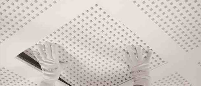 A suspended ceiling is a secondary ceiling, hung below the main (structural) ceiling. It may also be referred to as a drop ceiling, T-bar ceiling, false ceiling, grid ceiling, drop in ceiling, or drop out ceiling and is a staple of modern construction and architecture in both residential and commercial applications.