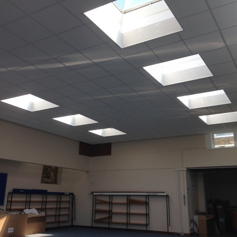 Suspended Ceilings with bulkhead details